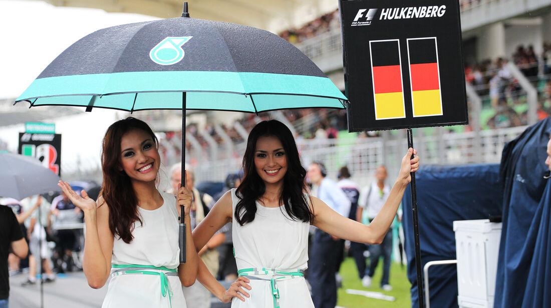Girls - Formel 1 - GP Malaysia 2013