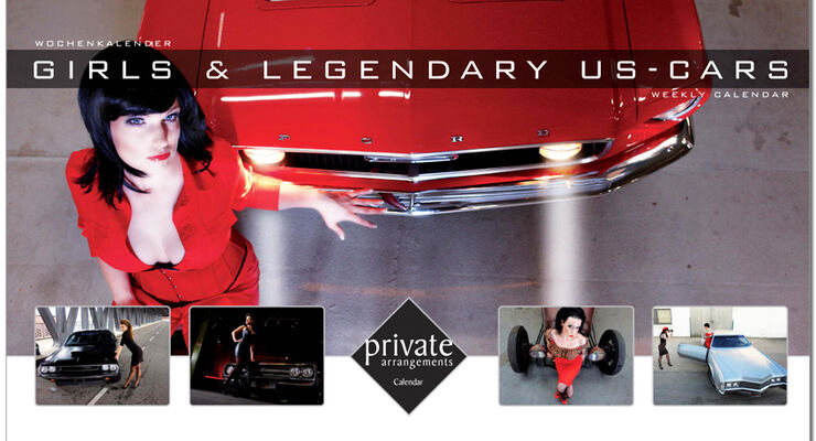 Girls & Legendary US-Cars 2010