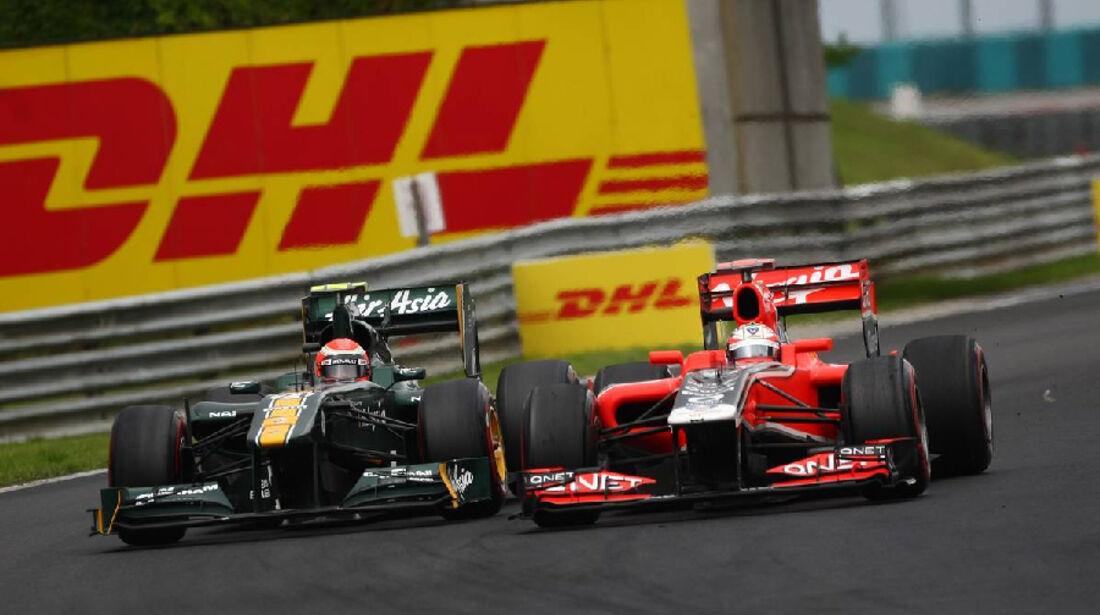 Glock Trulli - GP Ungarn - Formel 1 - 31.7.2011 - Highlights