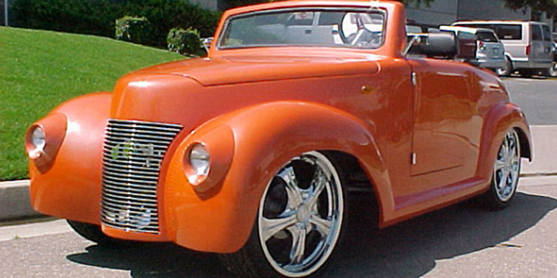 Golf Car 39 Chevy Roadster