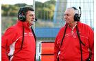 Graeme Lowdon, John Booth, Marussia, Formel 1-Test, Jerez, 5.2.2013