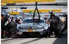 Green Mercedes DTM Lausitzring 2012