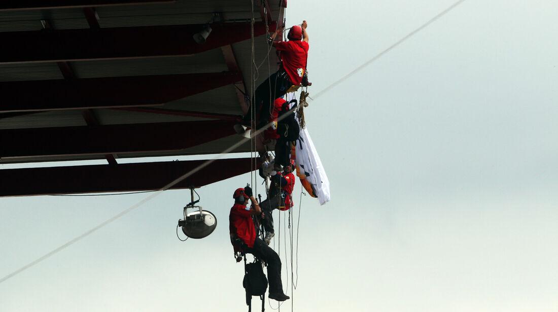 Greenpeace-Protest - GP Belgien 2013