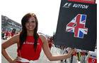 Grid Girl - F1 - GP Italien - 11. September 2011