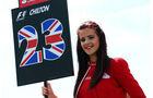 Grid Girl  - Formel 1 - GP England - 30. Juni 2013