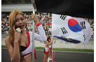 Grid Girl - Formel 1 - GP Korea - 16. Oktober 2011