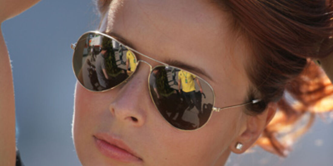 Grid Girl Formel 1 GP Türkei 2011