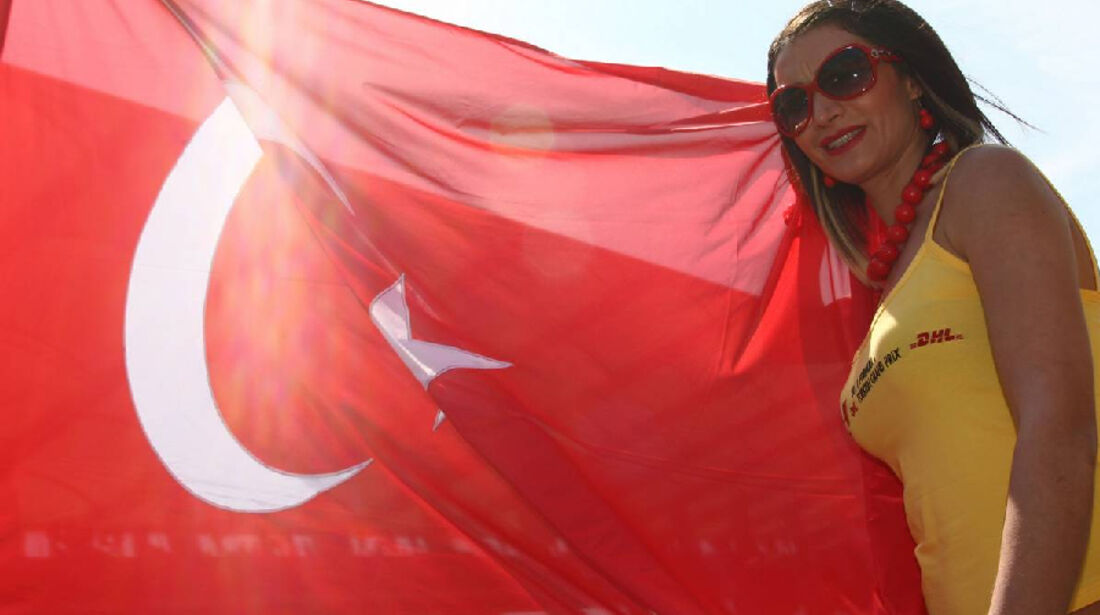 Grid Girl GP Türkei 2011