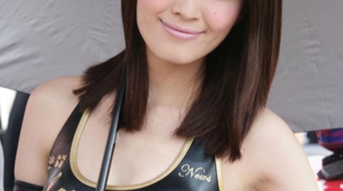 Grid Girl WTCC Macau 2011