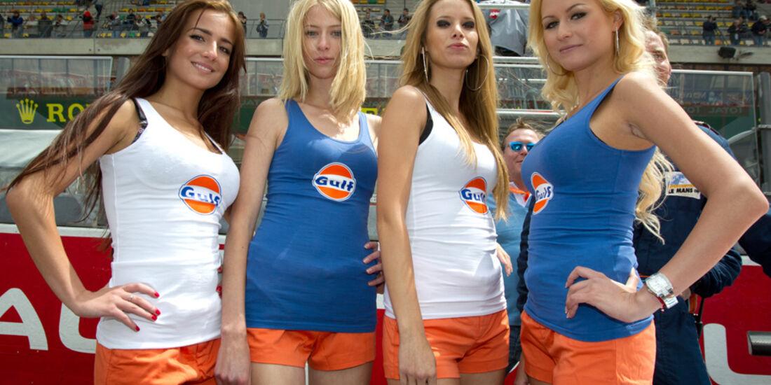 Grid Girls 24h Le Mans 2011