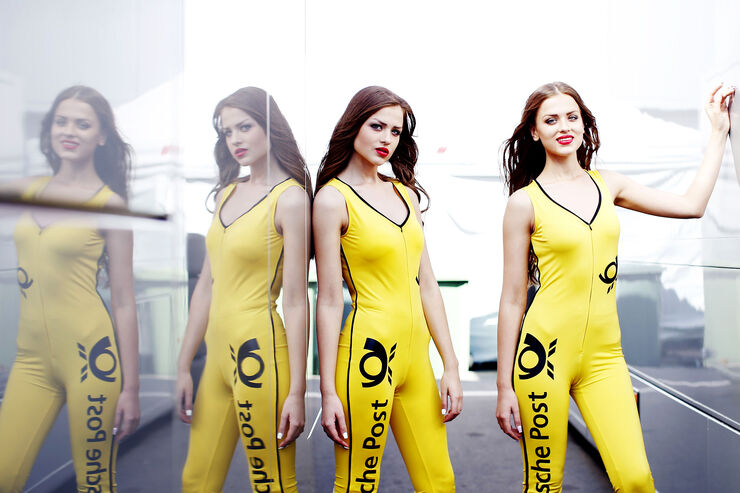 Grid Girls - DTM - Moskau - 2015
