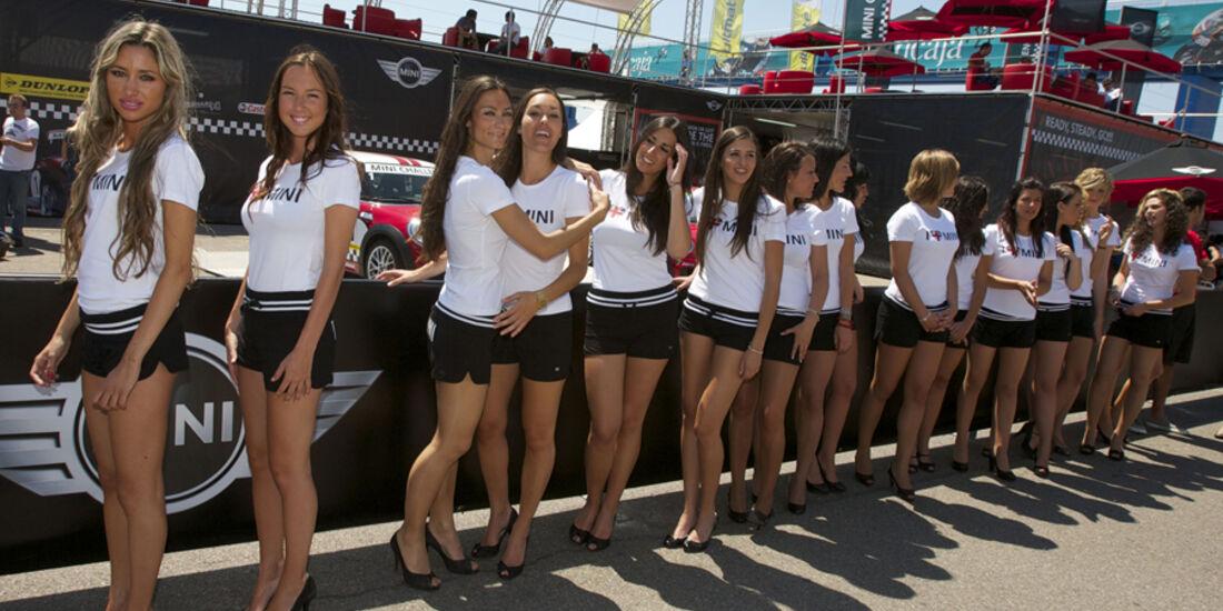 Grid Girls, DTM Valencia 2010
