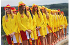 Grid Girls - Formel 1 - GP Belgien - Spa-Francorchamps - 23. November 2014