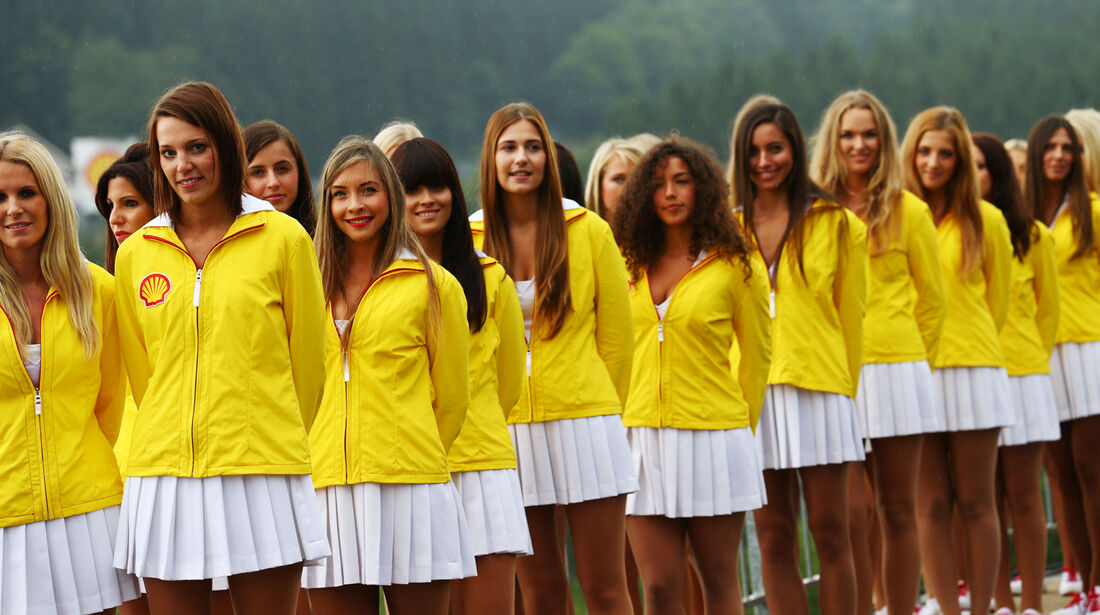 Grid Girls - Formel 1 - GP Belgien - Spa-Francorchamps - 24. August