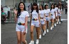 Grid Girls - Formel 1 - GP Japan - Suzuka - 7. Oktober 2017