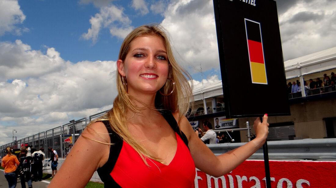 Grid Girls - Formel 1 - GP Kanada 2013