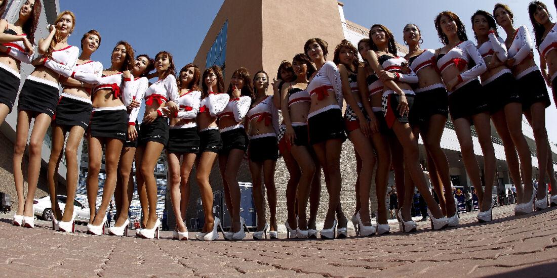 Grid Girls - Formel 1 - GP Korea - 16. Oktober 2011
