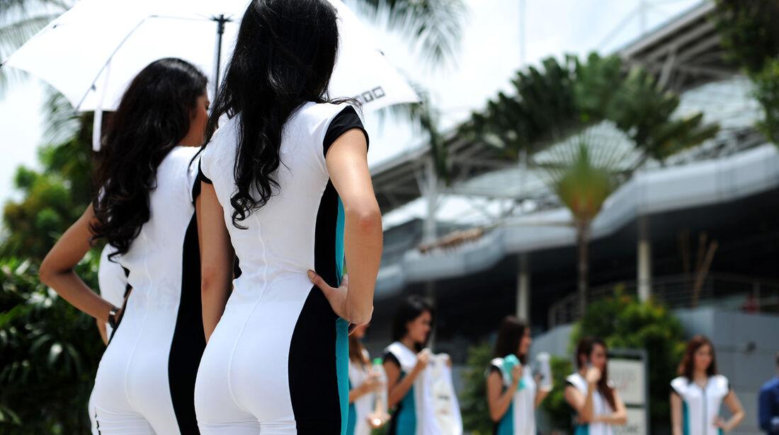 Grid Girls - Formel 1 - GP Malaysia - Sepang - 29. März 2014