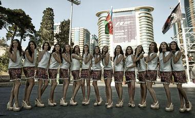 Grid Girls GP Aserbaidschan
