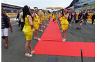 Grid Girls - GP England 2015