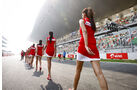Grid Girls - GP Indien 2013