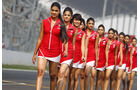 Grid Girls - GP Indien 2014