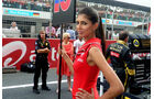 Grid Girls - GP Indien 2041