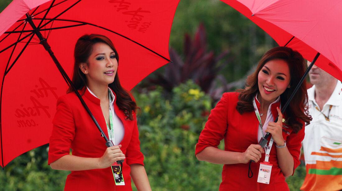 Grid Girls GP Malaysia 2012