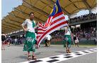 Grid Girls - GP Malaysia 2014 - Formel 12