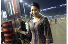 Grid Girls - GP Singapur 2014
