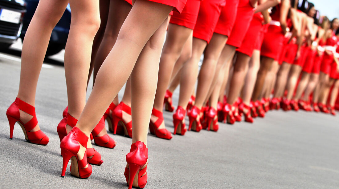 Grid Girls GP Spanien 2012