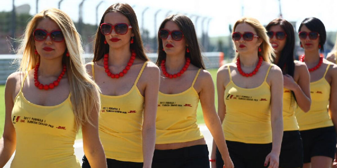 Grid Girls GP Türkei 2011