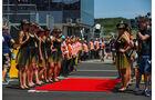 Grid Girls - GP Ungarn 2017 - Budapest