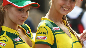 Grid Girls - GP Ungarn - Formel 1 - 31.7.2011