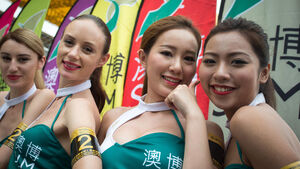 Grid Girls - Macau Grand Prix 2017