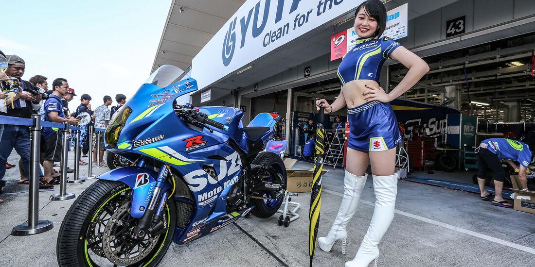 Grid Girls - Motorrad Endurance-WM 2018