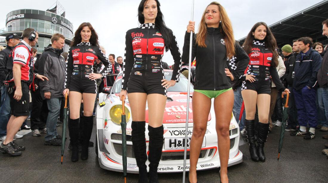 Grid-Girls, VLN, Langstreckenmeisterschaft, Nürburgring