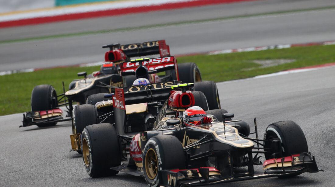 Grosjean - Formel 1 - GP Malaysia 2013