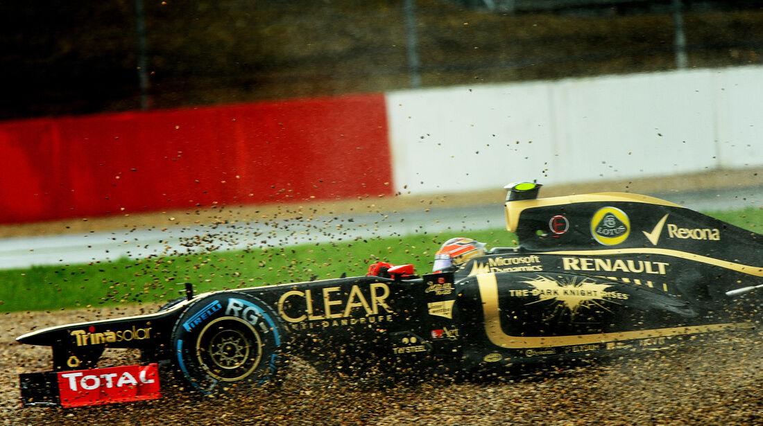 Grosjean GP England 2012