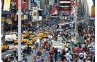 Großstadt, Verkehr, Taxis