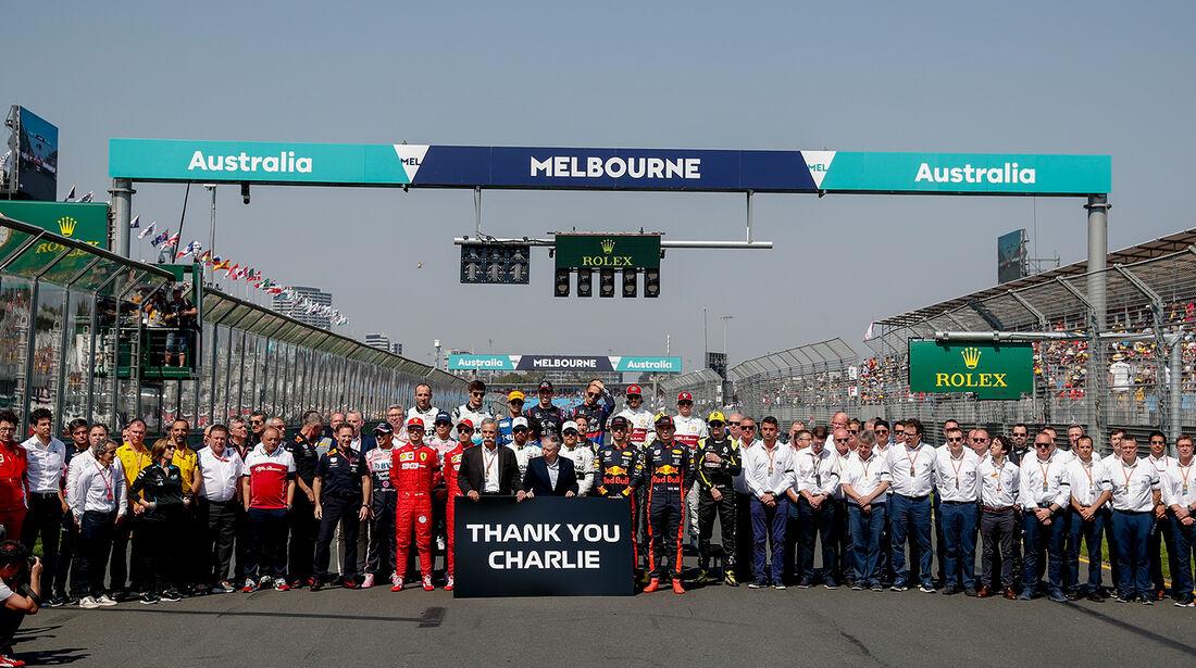 Gruppenfoto - GP Australien 2019