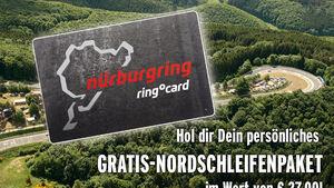 Gutschein Nürburgring-Paket sport auto 08/2010