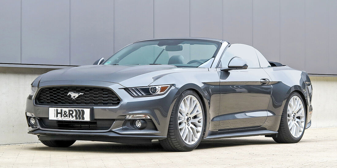 H&R Ford Mustang Cabrio 2.3 EcoBoost