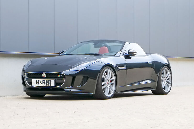 H&R Jaguar F-Type R Cabrio