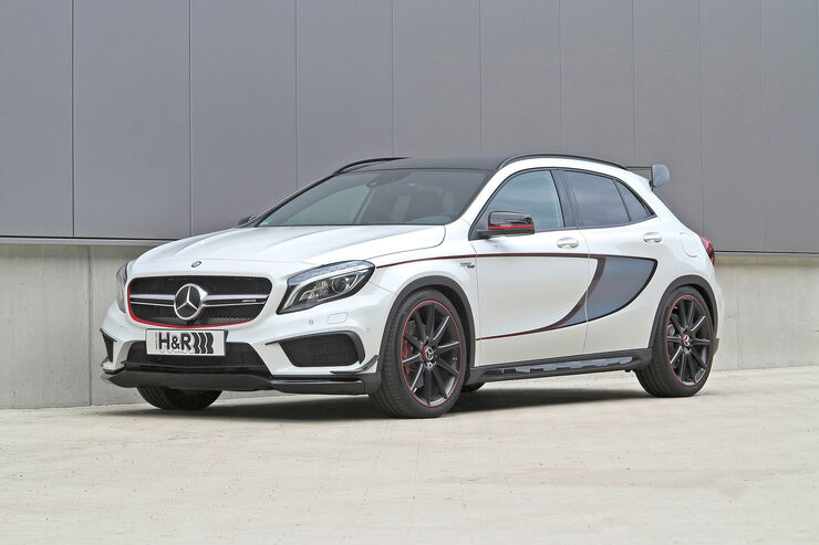 Anzeige mercedes gla 45 amg mit hr sportfedern auto for Cafissimo neues modell