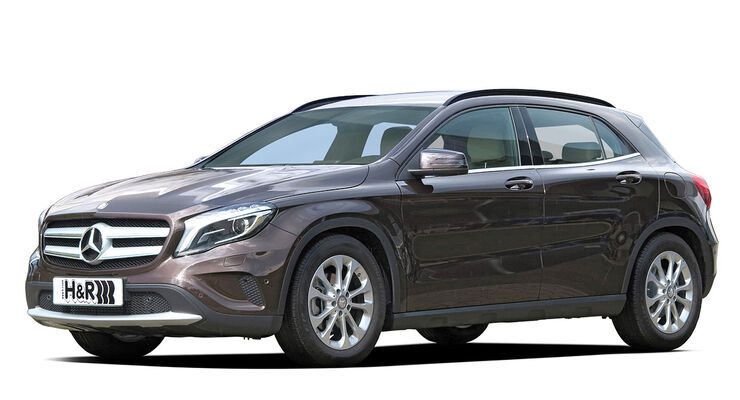 H&R Mercedes GLA