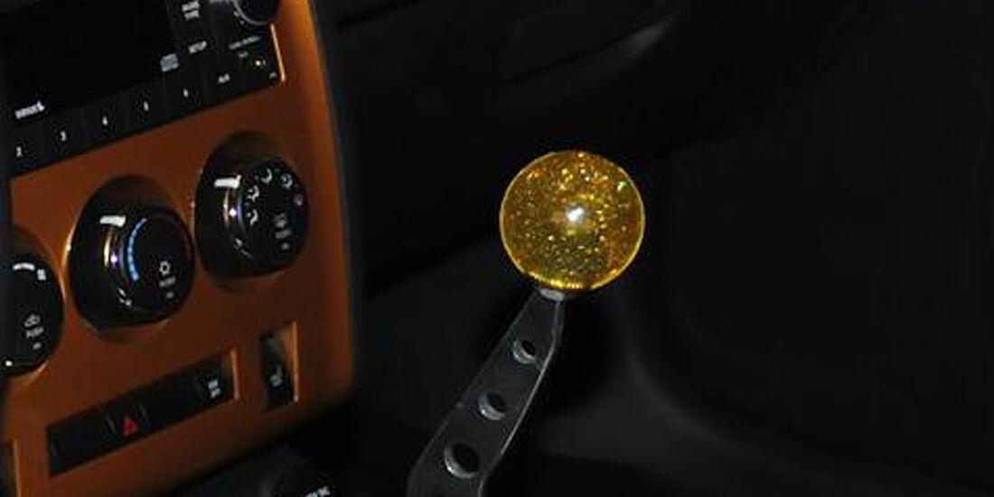 HPP Plymouth Superbird, Dodge Challenger, Innenraum, Schalthebel