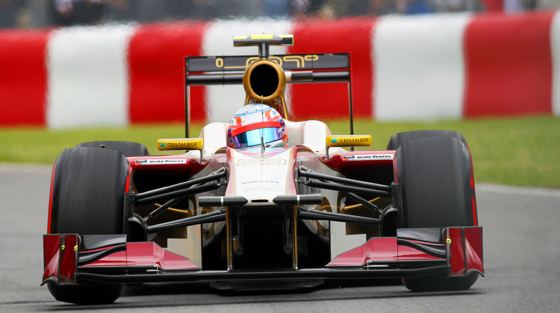 HRT Formel 1 GP Kanada 2012