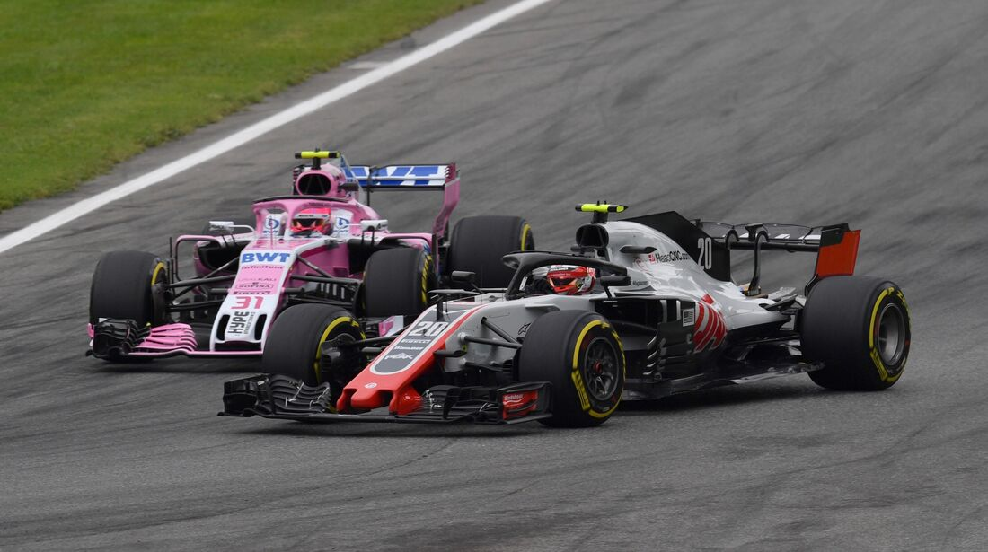 Haas - Force India - Formel 1 - GP Italien - 31. August 2018
