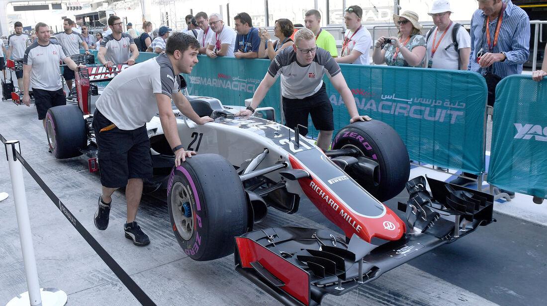 HaasF1 - Formel 1 - GP Abu Dhabi - 24. November 2016